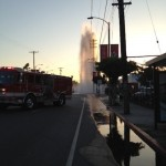 Geyser on Melrose