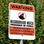 Neighborhood Watch Signs Dedication with Paramount Studios and Larchmont Village
