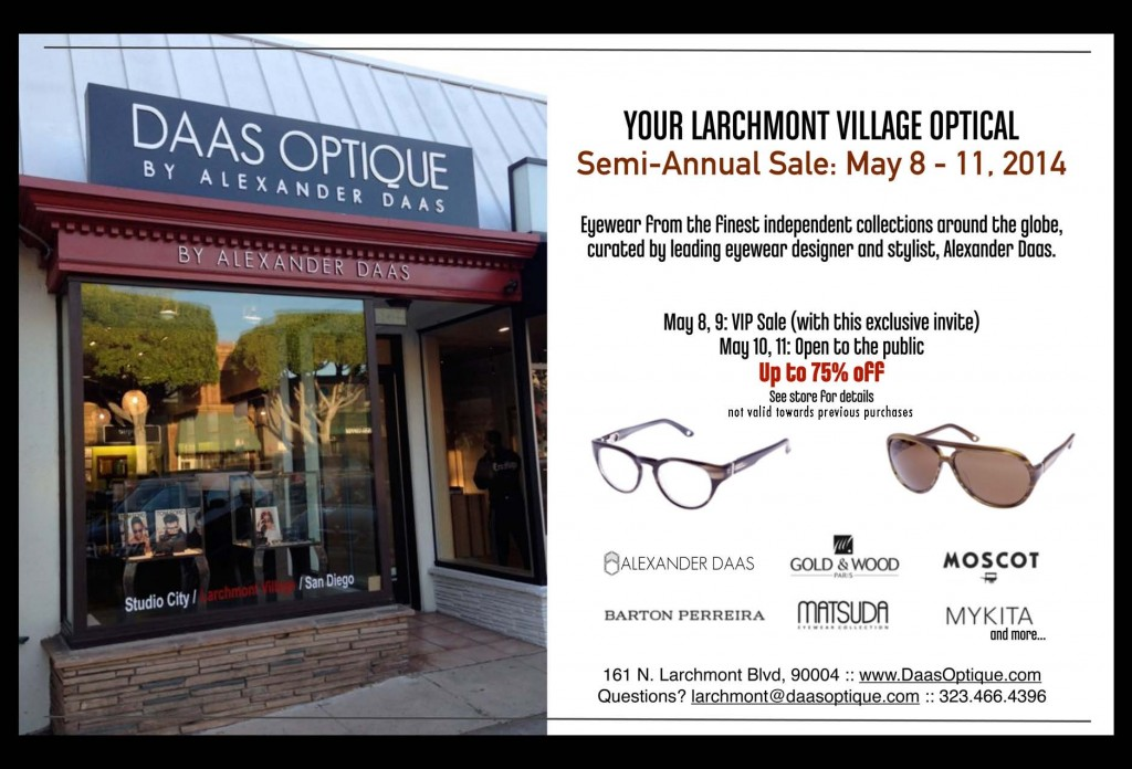 Daas Optique Semi-Annual Sale
