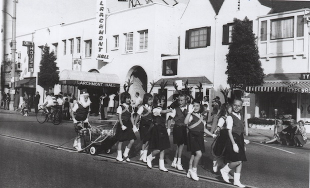 Holiday Parade on Larchmont. Photo from Larchmont (Images of America)