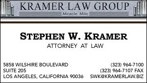 Kramer Law Group, Steve Kramer - March 16, 2016