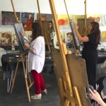 "Art Works Studio Showcases Local Painters in ""LA en Rose"""