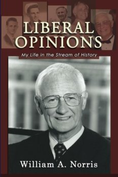 "Trailblazing Judge, Willam Norris, Talks & Signs ""Liberal Opinions: My Life in the Stream of History"" @ Chevalier's Books 