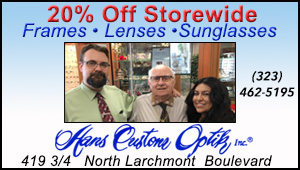 Hans Custom Optik - October 7, 2016 - 20% Storewide