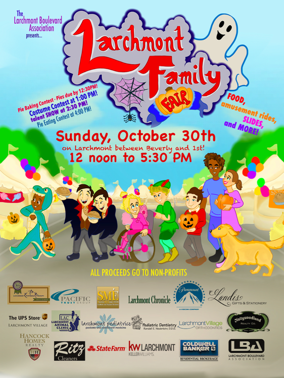 Larchmont Family Fair @ Larchmont Boulevard | Los Angeles | California | United States