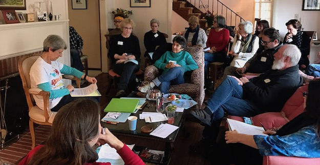 Friends gather at Doreen Braverman's Hancock Park home to organize a grassroots effort to fight the rush to repeal Obamacare