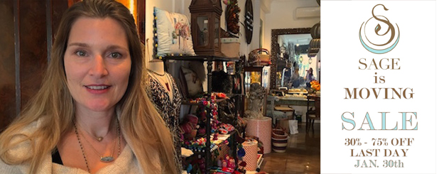 Sage Machado is closing her Larchmont Village shop at the end of the month.