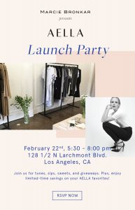 AELLA Launch Party @ AELLA  | Los Angeles | California | United States