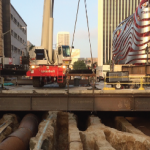 Wilshire/Fairfax Subway Decking Work Completed Five Weeks Early