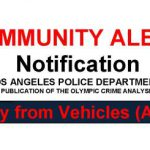 Air Bag Thefts…and Other Crime News
