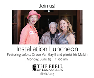 Installation Luncheon