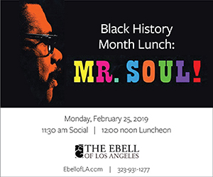 Ebell Black History Month Luncheon: Mr. Soul!