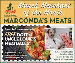 Farmers Market March Merchant - Marconda's Meats