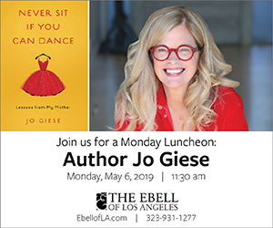 Ebell Monday Lunch: Jo Giese