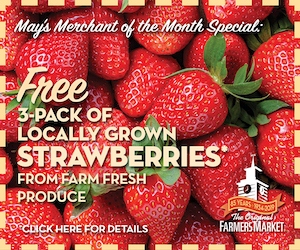 The Original Farmers Market - May Merchant of the Month: Farm Fresh Produce