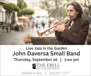 Ebell: Live Jazz in the Garden